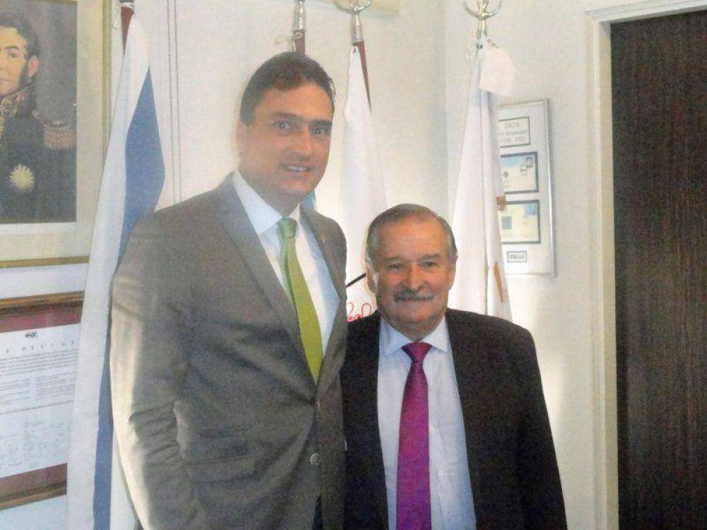 La DAIA se reunió con el embajador de Suiza