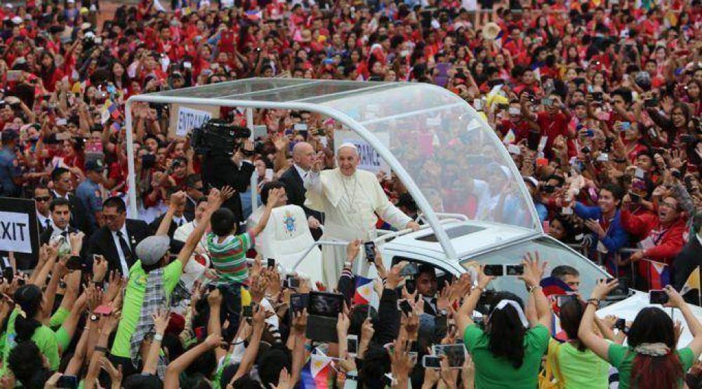 Vaticano desmiente plan de atentado contra Papa Francisco en Filipinas
