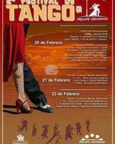 Se viene el 2º Festival de Tango en Monte Hermoso
