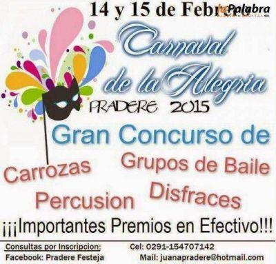 Se vienen los carnavales de la alegr�a en Juan A. Pradere