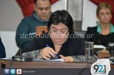 Marcela Guido confirmó que ya trabaja en el mismo bloque que Luis Gribaldo