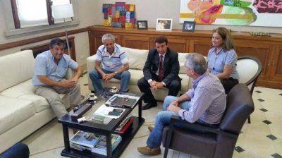 Eseverri y Jano con candidatos a Intendentes del massismo de la Quinta Sección Electoral