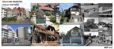 Anuncios y realidades. Duro documento de los Defensores del Patrimonio