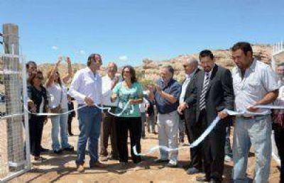Corpacci inauguró varias obras en el norte de Belén