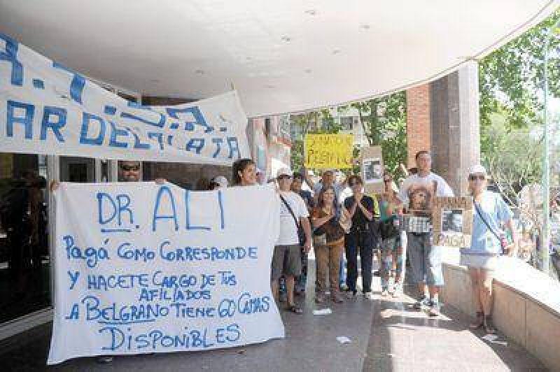 Trabajadores del Emhsa y el Belgrano cuestionan al PAMI