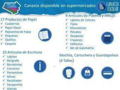 Cristina public� las ofertas de la canasta escolar de Precios Cuidados