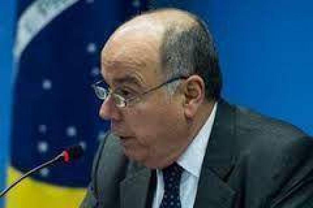 La DAIA en la recepción al Canciller de Brasil