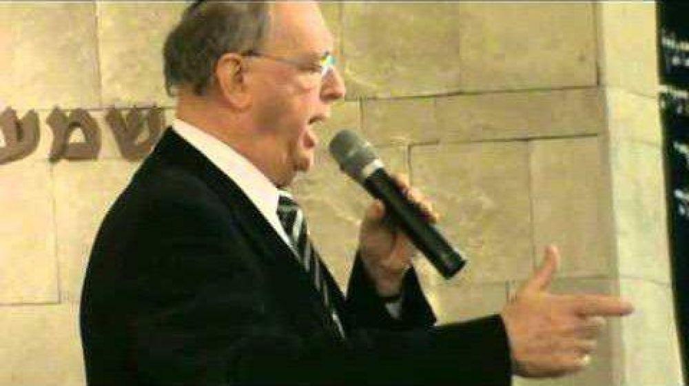 """Oscar Fleischer: """"Está en manos de los jazanim crear la necesidad de la jazanut en los oficios, trabajando junto al rabino de cada comunidad"""""""