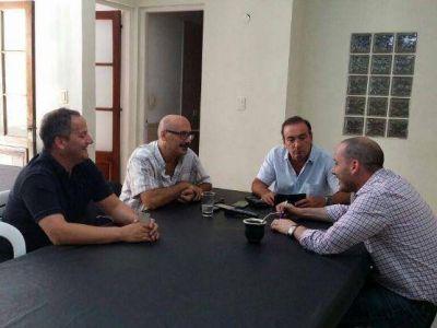 """Nueva cumbre de intendenciables del FR: """"La premisa es Sergio Massa presidente 2015"""", aseguró Melzi"""