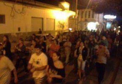 """Marcha: """"En San Pedro los policías son cagones"""""""