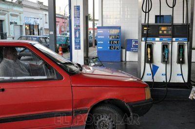 Los combustibles subieron un 0.8%