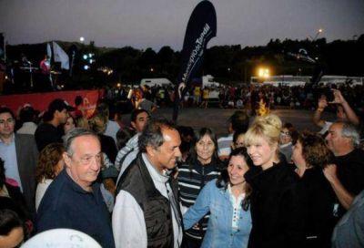 Lunghi, cada vez más cercano a Scioli, recibirá al Gobernador para el recital de Luciano Pereyra