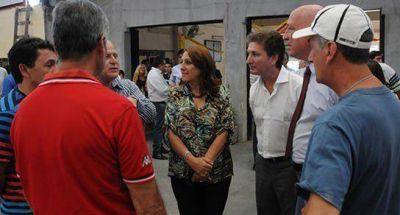 Fein y Bonfatti en Club San Roque