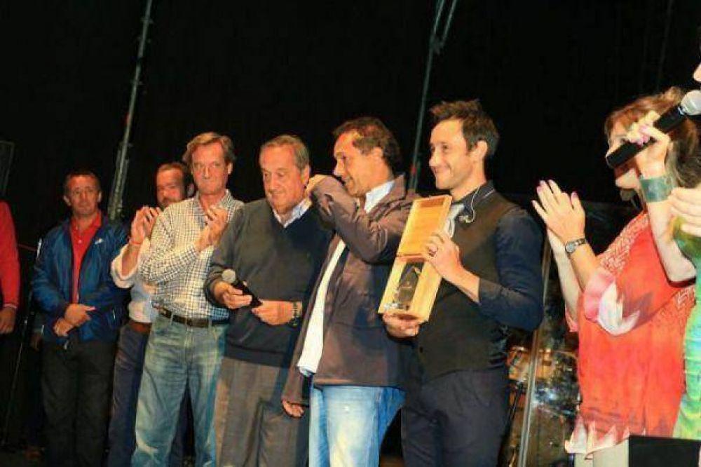 Luciano Pereyra se presentó en Tandil ante más de 20 mil personas