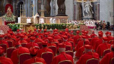 Cambios en la Iglesia: el Papa creó cardenales de la periferia mundial