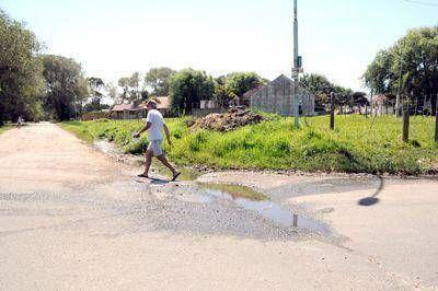 Quejas de los vecinos por deficiencias en Playa Serena