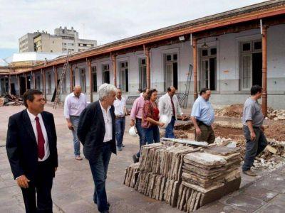 Funcionarios de Nación y Provincia visitaron obras