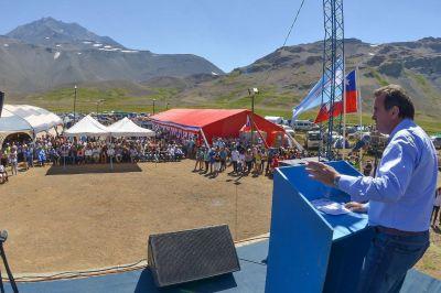 Pérez presidió el 8vo Encuentro Binacional de Paso Planchón Vergara
