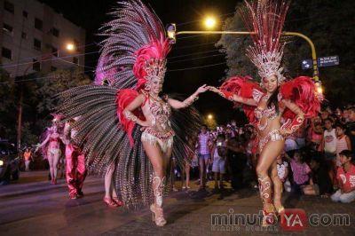 Unas 20 mil personas participaron del Carnaval en San Rafael