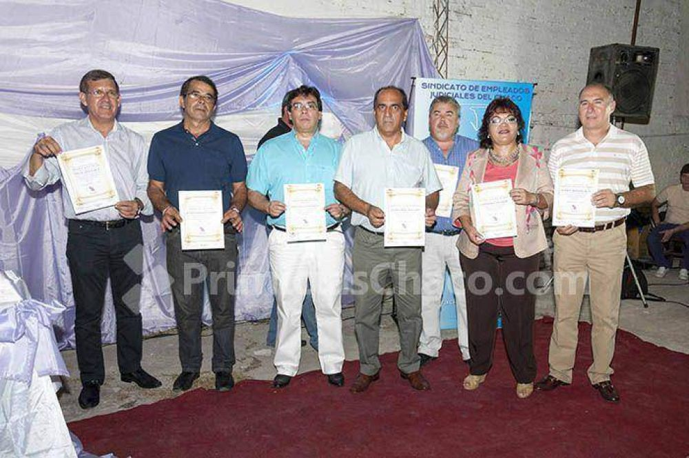 Aranda asumió su tercer mandato consecutivo frente al SEJCH