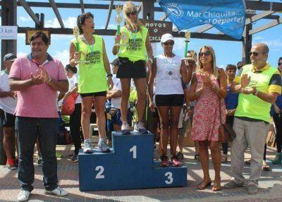 250 atletas animaron la cuarta maratón aniversario de Santa Clara del Mar