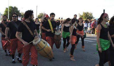 Madryn, Trelew y Playa Uni�n disfrutan a pleno los carnavales
