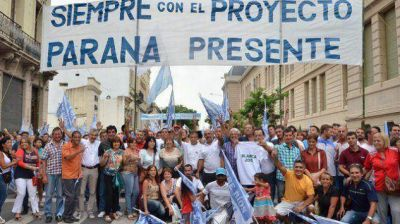 ¿Quiénes movilizaron para Urribarri?