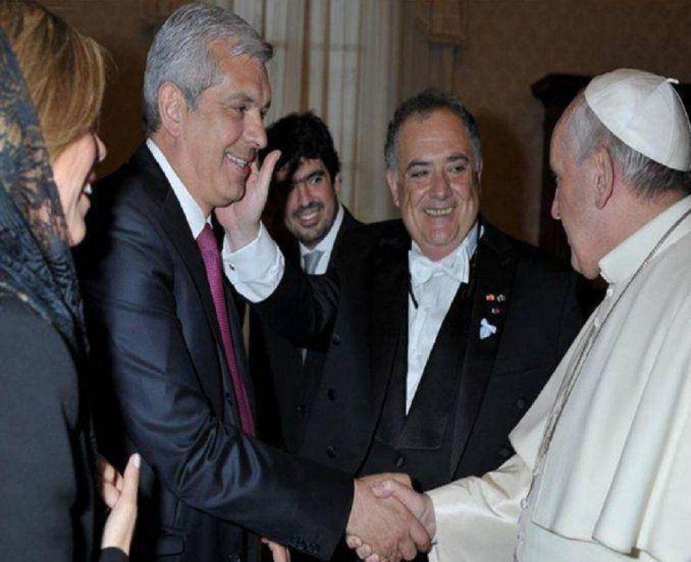 Francisco recibió a Eduardo Valdés y Julián Domínguez