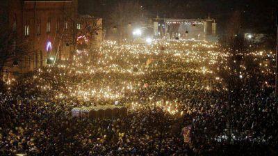 Más de 30.000 personas marcharon en Copenhague para condenar los atentados terroristas