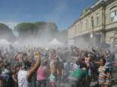 M�s de 40.000 personas disfrutaron el fin de semana de los festejos por carnaval en La Plata