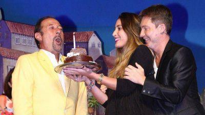 Guillermo Francella celebró los 60 años arriba del escenario