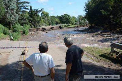 El Gobierno envió ayuda a Córdoba para restablecer la energía y el agua potable