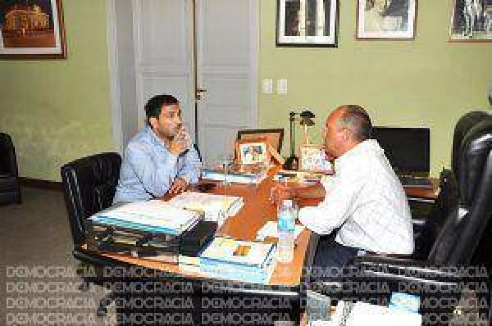 Mussi visitó la localidad de General Pinto buscando reforzar su precandidatura a gobernador