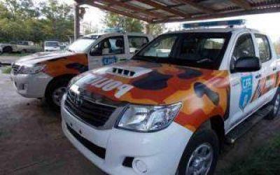 Provincia entregó dos patrulleros a la Policía de Rauch