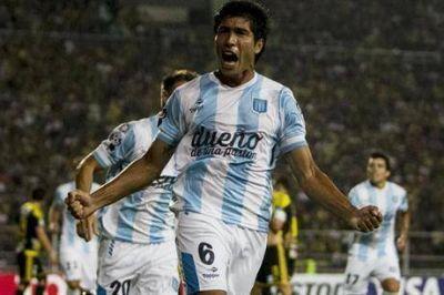 Una fiesta: Racing goleó 5-0 a Deportivo Táchira en su vuelta a la Copa Libertadores
