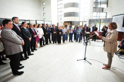 El gobernador Poggi participó del homenaje a Nisman en San Luis