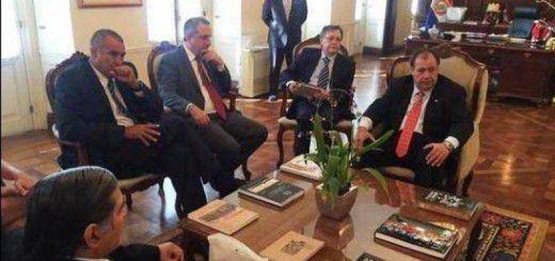 Passalacqua y el Vicepresidente paraguayo se reunieron para analizar el puente Eldorado � Mayor Ota�o