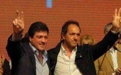 Scioli y Mariotto presionan a Insaurralde en su territorio y una encuesta le marca el paso