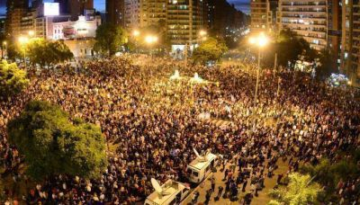 Una multitud acompañó desde Córdoba
