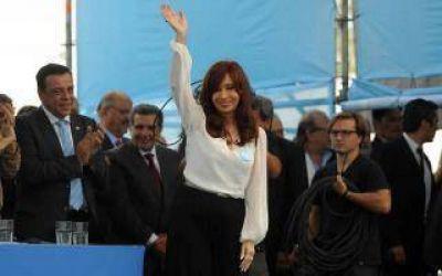 Cristina en Atucha: