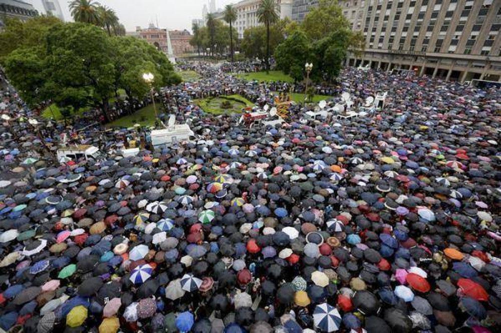 18F: La DAIA destacó el valor de compartir con la sociedad argentina el respeto por la consigna de la movilización