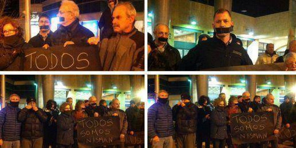 18F: En Israel, cientos de personas se sumaron a la marcha frente a la Embajada argentina con carteles y barbijos