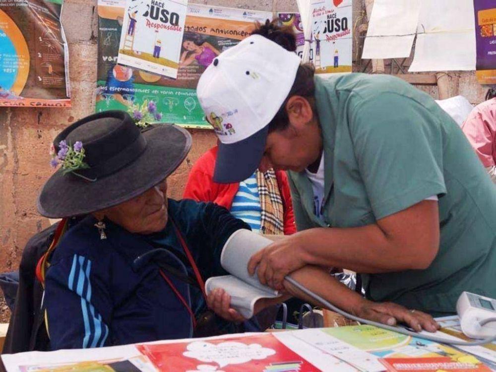 Realizaron operativo verano saludable en Uquía