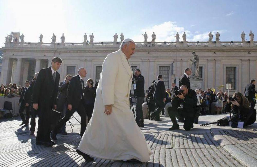 El Papa pide paz en Libia, Medio Oriente y Ucrania