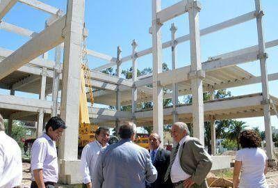 El Intendente de la Capital supervisó la construcción de la nueva sede del Honorable Concejo Deliberante