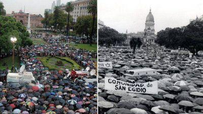 La misma foto, casi 21 años después