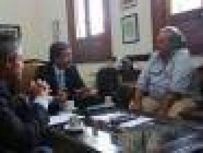 Con eje en seguridad, 'Cachi' Martínez visitó San Miguel