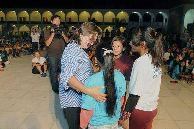 Lucía Corpacci lanzó programa para los jubilados catamarqueños