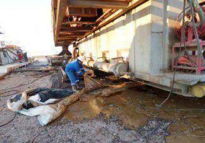 Hubo un derrame en un pozo de YPF en Vaca Muerta