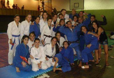 Exitosa exhibici�n de judo